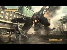 Metal gear rising: revengance - Metal gear ray - boss battle - YouTube