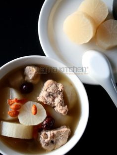 Daikon Soup (白蘿蔔湯) | Lama Kitchen - Drive Your Passion for Food | A Food & Cooking Blog