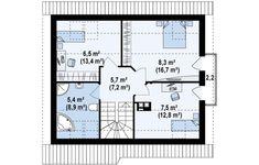 Müstakil Bir Ev Yaptırmak: Fikir Verecek Modeller ve Projeler | Ev Gezmesi Floor Plans, Floor Plan Drawing, House Floor Plans