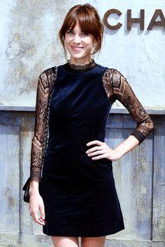 An Ode To Alexa Chung's Shift-Dress Style