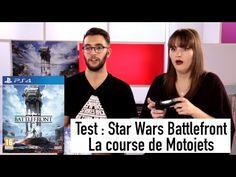 Star Wars Battlefront : la course de motojets !