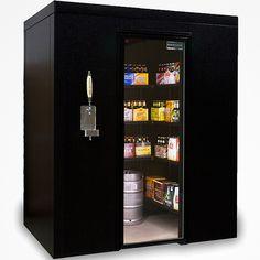 Холодильная камера для продуктов.
