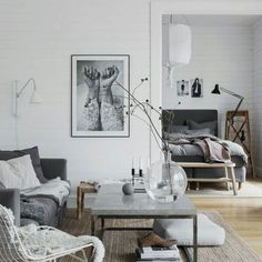 The amazing cottage of @pellahedeby this is definately one of my favorite spaces. Beautiful eclectic mix of soft Greys and reclaimed timber #scandiinspired #scandistyle #scandiboho #bohochic #driftwoodstool #thedustypoppy #ontrend #scandinaturals #scandinavian #scandiinspired #scandilove #scandi #whiteonwhite #whitestyle#nordicstyle #nordic#livingroominspo#greytones by thedustypoppy