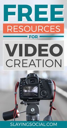 Amazing free video resources for creators, including where to find free stock video, free stock music, free video editors and more. Marketing Software, Marketing Tools, Content Marketing, Online Marketing, Digital Marketing, Media Marketing, Youtube Hacks, Free Stock Video, Thing 1