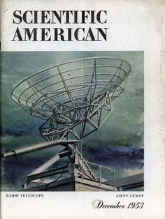 Scientific American – Dec, 1953 Fifty Cent, Scientific American, Our Solar System, Space Station, Cosmic, Archive, Universe, Science, Technology
