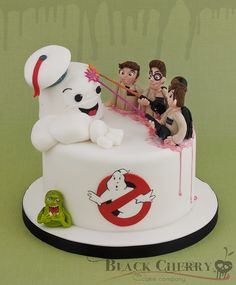Ghostbusters Cake | by Black Cherry Cake Company