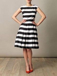 Wide stripe sun dress   Dolce & Gabbana   Matchesfashion.com