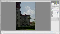 Photofocus tutorial.  Working with Problem exposures in adobe camera raw (fixing a combo over/under exposed image).