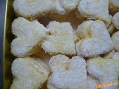 kokosové cukroví,pracinky