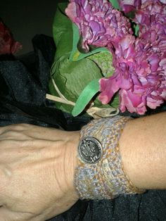 Bracelet and flowers