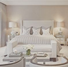 White and gray room