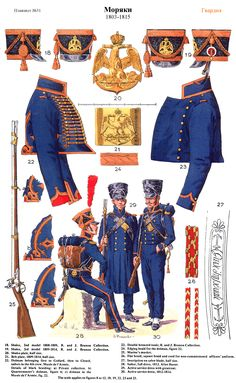 French Marines 1803- 1815 (pl 31) 2, by Lucien Rousselot.