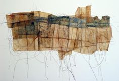 Downtown, intaglio, teabags by Masha Ryskin