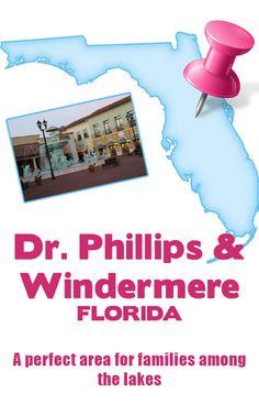 Phillips & Windermere, Florida is a perfect area for families to raise a family. Windermere Florida, Moving To Florida, Central Florida, Winter Garden, The Dreamers, Orlando, Blog, Travel, Orlando Florida