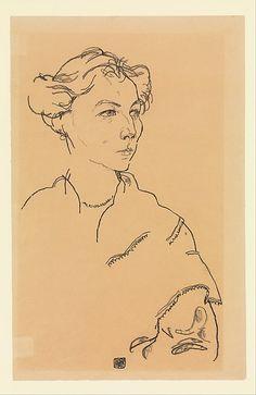 Egon Schiele   Lilly Steiner   The Met 1918