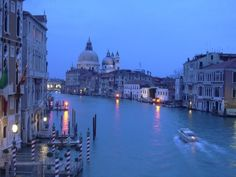 Venice's famous Grand Canal
