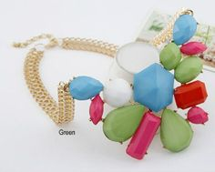 Glam Statement Necklace- $25.00 Shop now on www.instylook.com