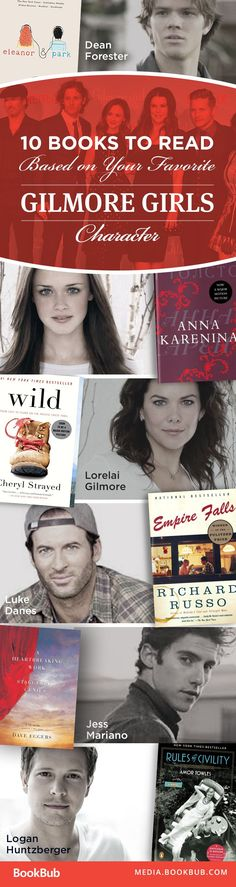 Books worth reading this year, based on your favorite Gilmore Girls character.