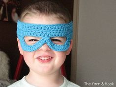 Ravelry: Kids' Adjustable Mask pattern by Marie Laura