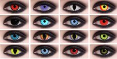Try a new look this Halloween. Dozens of scary and sexy lenses here: http://www.colormecontacts.com/crazy-halloween-eyes/    #contactlens