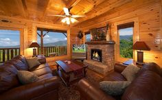 Tennessee Cabins, Tennessee Cabins Rentals in Smoky Mountains Cabin Homes, Log Homes, Smoky Mountains Cabins, Mountain Cabins, Log Cabins, Mountain View, Mountain Dream Homes, Tennessee Cabins, Log Cabin Living