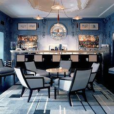 The Blue Bar at The Berkeley  © David Collins Studio  Peroni's Vivi in Stile....