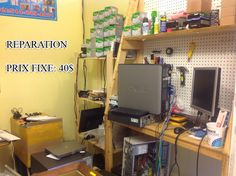 COMPUTER REPAIR AT CIMAHOST.COM, FOR JUST 40 DOLLARS WE FIX YOUR COMPUTER,  COME TO 4212 STE. CATHERINE EST, MONTREAL H1V 1X3