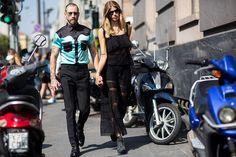 Street Style From Milan Fashion Week Women's SS16 | Highsnobiety