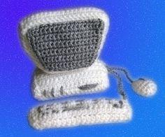 Amigurumi pattern  Crocheted Computer by LilikSha on Etsy, $3.00