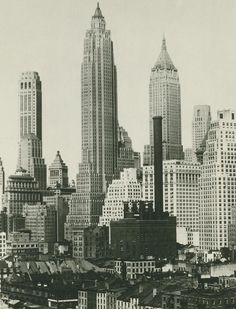 New York, início dos anos 1930 / New York City, c. early 1930s