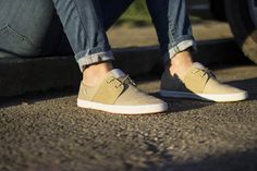 Buy Now: http://www.baselondon.com/spam-2-weft-suede-natural Spam 2 Suede Weft Natural. Fresh. SS16 footwear. Trainers. Casual. Mens Fashion.