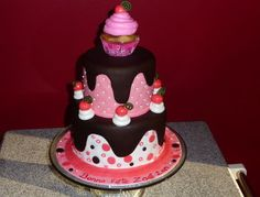 Cake Central - Favorite Cakes Cake Central, Yummy Cakes, Cream, Birthday Cakes, Cake Ideas, Ruffles, Desserts, Butter, Food