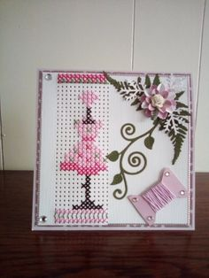 Mini Cross Stitch, Cross Stitch Cards, Stitching On Paper, Embroidery Cards, Crafts To Make And Sell, Marianne Design, Plastic Canvas Patterns, Diy Projects To Try, Cross Stitch Patterns