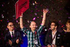 Famelab 2015 - zwycięzca Szymon Drobniak / Famelab 2015 - Szymon DrobniakThe winner