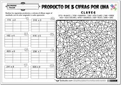 Producto de 3 cifras por 1 cifra - III - Actiludis