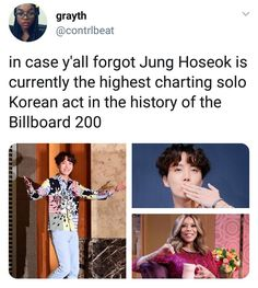 Is this still true now that bts has Jung Hoseok, Bts Memes, Namjoon, Seokjin, Jhope Bts, K Pop, Bts Love, Bts Tweet, E Dawn