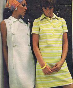 Crimplene Dresses #70s fashion