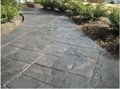 Stamped Concrete. Stamped Concrete WalkwayStained Concrete PatiosConcrete  ...