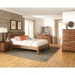 Coaster Furniture - Peyton 5 Piece California King Platform Bedroom Set - 203651KW-5SET