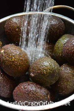 How to Freeze Avocados to Make Guacamole and Other Spreads~AreWeCrazyOrWhat.net