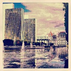 Empire State Plaza, Albany New York-late summer 2012