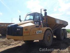 2011 CAT 740B ARTICULATED TRUCK