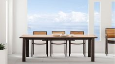 Capri Extension Dining Table - Natural | Domayne