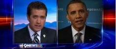 Local news reporter grills President Obama on Libya, 'bullshitter' remark