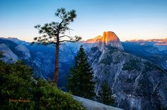 Yosemite National Park Sunset
