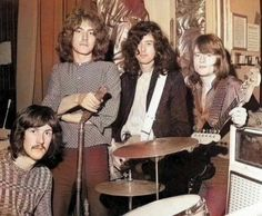 A young Led Zeppelin--March, 3 1969 at the BBC 'Top Gear' Playhouse Theatre in London for their first performance on BBC Radio Led Zeppelin Ii, Robert Plant Led Zeppelin, Led Zeppelin Quotes, Jimmy Page, Top Gear, Hard Rock, Heavy Metal, Almost Famous Quotes, John Paul Jones