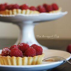 Chocolate & Raspberry tartlets recipe - The Arrogant Pug Food Pictures, Pugs, Foodies, Raspberry, Chocolate, Desserts, Recipes, Tailgate Desserts, Deserts
