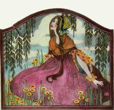 """""""Flower Girl"""" Ethel Larcombe"""