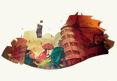City Guide (Tricity) on Behance by Patryk Hardziej
