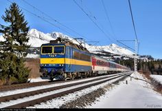 RailPictures.Net Photo: 363.136 ZSSK ZSSK 363 at Strba, Slovakia by Jozef Grena Public Transport, Transportation, World, Trains, Europe, The World, Peace, Earth